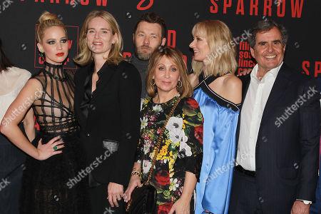 Jennifer Lawrence, Emma Watts, Joel Edgerton, Stacey Snider, Joely Richardson, Peter Chernin