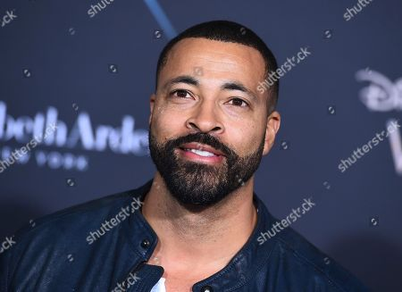 "Stock Picture of Timon Kyle Durrett arrives at the world premiere of ""A Wrinkle in Time"" at the El Capitan Theatre, in Los Angeles"