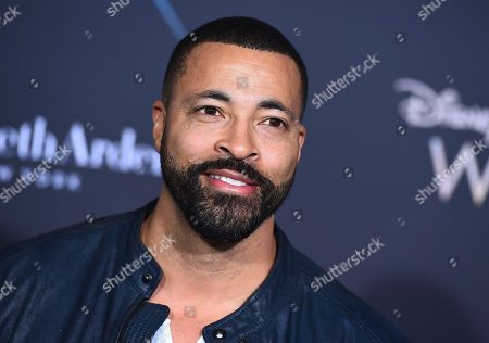 "Timon Kyle Durrett arrives at the world premiere of ""A Wrinkle in Time"" at the El Capitan Theatre, in Los Angeles"