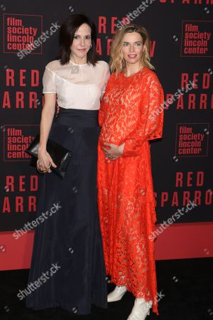 Stock Photo of Mary-Louise Parker and Thekla Reuten
