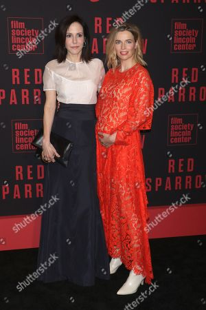 Stock Picture of Mary-Louise Parker and Thekla Reuten