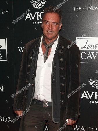 "Antoine Verglas attends a special screening of ""Louisiana Caviar"" at iPic Cinema, in New York"