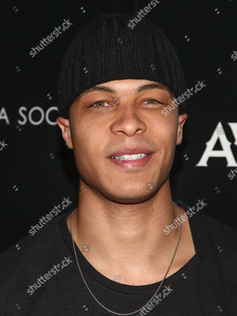 "Dale Moss attends a special screening of ""Louisiana Caviar"" at iPic Cinema, in New York"