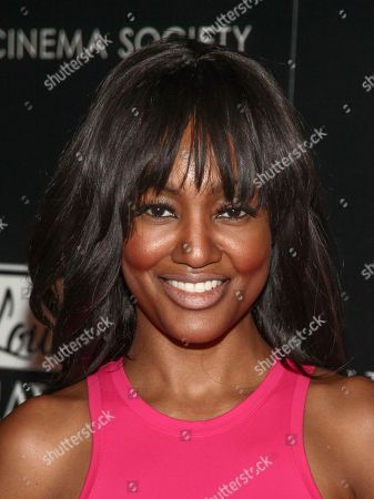 """Nichole Galicia attends a special screening of """"Louisiana Caviar"""" at iPic Cinema, in New York"""