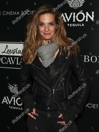 """Nicole Steinwedell attends a special screening of """"Louisiana Caviar"""" at iPic Cinema, in New York"""