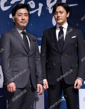 Jang Dong-gun and Ryoo Seung-ryong