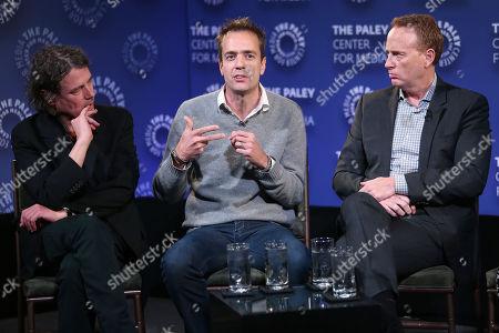 David Leveaux, Alex Rudzinski and Bob Greenblatt