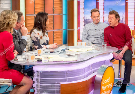 Charlotte Hawkins, Piers Morgan, Susanna Reid, Jason Donovan and Jeff Wayne