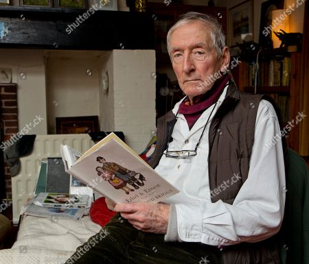 Raymond Briggs At His Sussex Home.