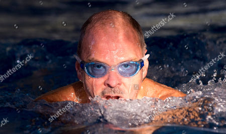 Editorial image of David Wilkie 62 Former Olympic Champion Interviewed By Jane Fryer. Picture - Mark Large … 19.01.17 Former Olympic Champion David Wilkie 62 Interviewed By Jane Fryer. He Won A Gold Medal In The 200m Breastroke At The Montreal Games 1976 And The Silver