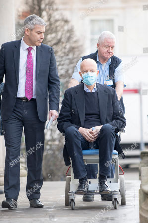Nick Boles Mp Conservative Member Of Parliament For Grantham And Stamford On His Way To Attend The Commons Brexit Debate Is Wheeled From The Cheyne Wing And His Hospital Bed At King's College Hospital In South London Where He Is Being Treated For Cancer.
