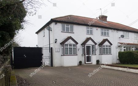 The Family Home Of Nigel Farage And His Wife Kirsten Farage Biggin Hill Kent. It Has Emerged That Nigel And His Wife Are Separated And He Now Shares His London Flat With A French Former Waitress Who Now Works For The European Parliament.
