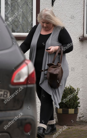 Kirsten Farage Leaves Her Home In Biggin Hill Kent. It Has Emerged That Nigel And His Wife Are Separated And He Now Shares His London Flat With A French Former Waitress Who Now Works For The European Parliament.