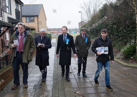 Jack Brereton Conservative Candidate Centre . Stoke Where There Is To Be A By Election Next Week.