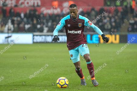 Patrice Evra of West Ham United