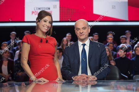 Lea Salame, Jean-Michel Blanquer