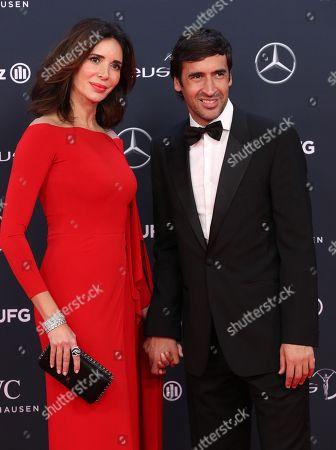 Raul Gonzalez Blanco and Mamen Sanz