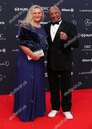 Marvelous Marvin Hagler and Kay Guarrera