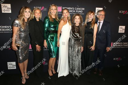Rita Wilson, Kelly Chapman Meyer, Jamie Tisch, Quinn Ezralow, Marion Laurie, Kate Capshaw and Steven Spielberg