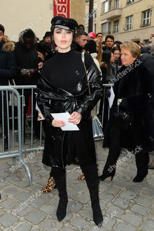 Editorial picture of Christian Dior show, Arrivals, Fall Winter 2018, Paris Fashion Week, France - 27 Feb 2018