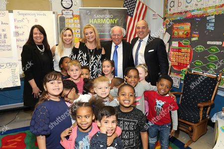 Editorial image of Sanford Harmony reaches 200k students in NYC, Brooklyn, USA - 27 Feb 2018