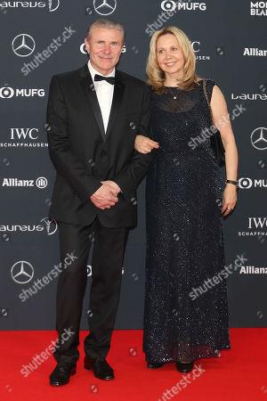Stock Image of Sergey Bubka And Lilia Tutunik