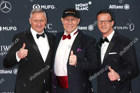 Stefan Bloecher, Axel Schulz, Fredi Bobic