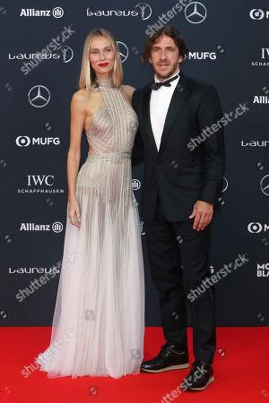 Carles Puyol, wife, Vanessa Lorenzo