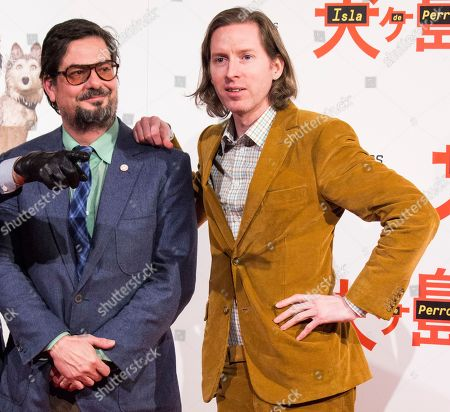 Wes Anderson and Roman Coppola