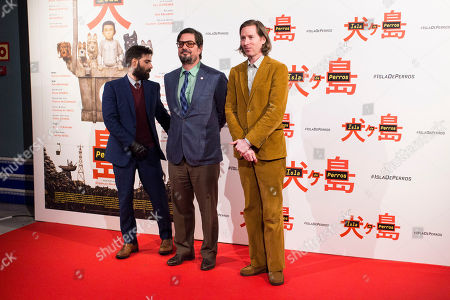Editorial picture of 'Isle of Dogs' photocall, Madrid, Spain - 27 Feb 2018