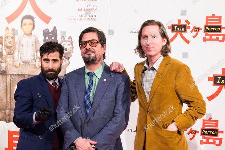 Wes Anderson, Jason Schwartman and Roman Coppola