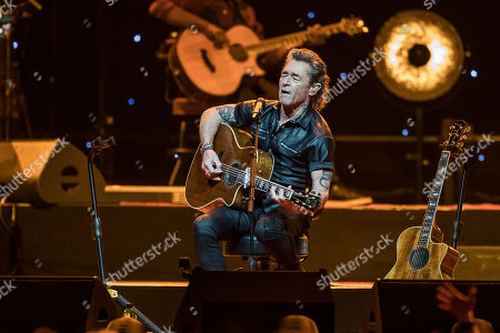 Editorial photo of Peter Maffay in concert, Duesseldorf, Germany - 26 Feb 2018