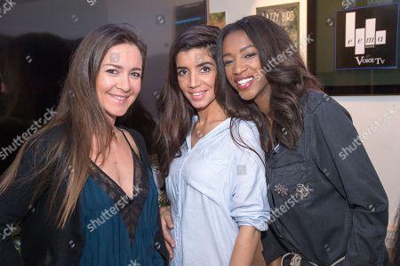 Emmanuelle Boidron, Sarah Kaddour, Hapsatou Sy