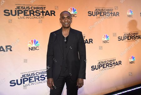 Costume designer Paul Tazewell participates in NBC's Jesus Christ Superstar Live in Concert press junket at the Church of St. Paul the Apostle, in New York