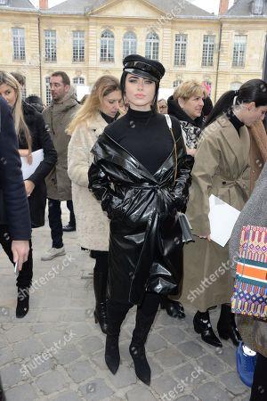 Editorial photo of Christian Dior show, Arrivals, Fall Winter 2018, Paris Fashion Week, France - 27 Feb 2018
