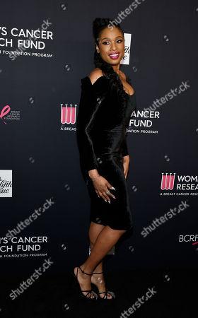 Jennifer Hudson, recipient of the Nat King Cole Award,