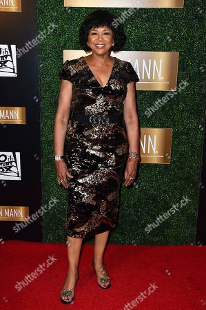 Cheryl Boone Isaacs arrives at the 6th Annual ICON MANN Pre-Oscar Dinner on in Beverly Hills, Calif