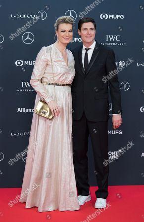 Maria Hoefl-Riesch and Marcus Hoefl