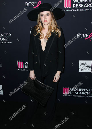 Editorial image of The Women's Cancer Research Fund hosts an Unforgettable Evening, Arrivals, Los Angeles, USA - 27 Feb 2018