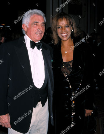 Gayle King and Ted Forstmann Attending an Evening Under the Colorado Sky Benefit at the Waldorf-astoria Hotel New York City January 23 2001