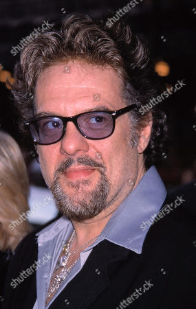 Stock Picture of Robert Pastorelli Attending the Opening Night Performance of the Producers at the St James Theatre in New York City April 19 2001