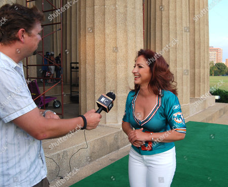 Editorial picture of Hank Williams Jr. and Gloria Estefan Tape Monday Night Football Opening For Espn - 22 Jun 2009