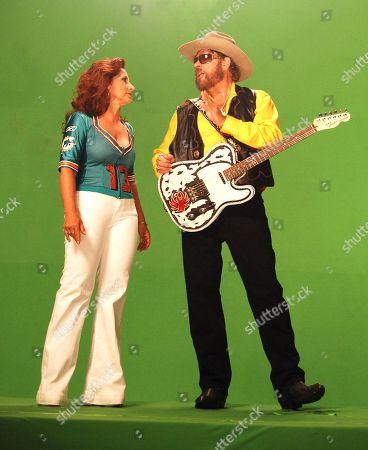 Hank Williams Jr. and Gloria Estefan