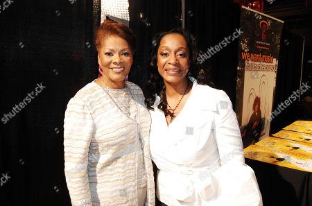 Dionne Warwick and Regina Belle