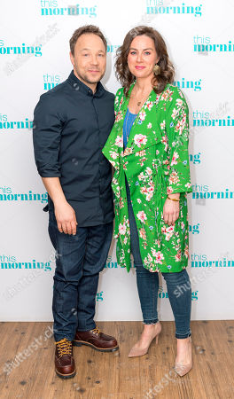 Stephen Graham and Jill Halfpenny