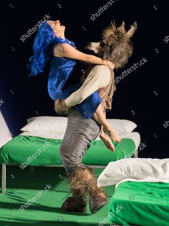 Editorial photo of 'A Midsummer Night's Dream' Opera performed by English National Opera at the London Coliseum, UK - 28 Feb 2018
