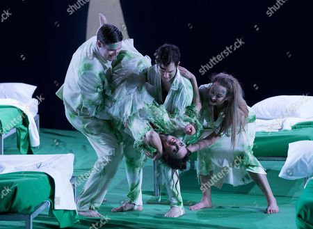Editorial image of 'A Midsummer Night's Dream' Opera performed by English National Opera at the London Coliseum, UK - 28 Feb 2018