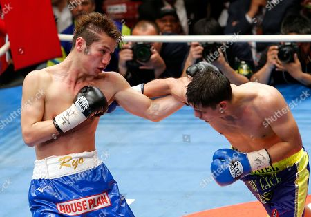 Daniel Roman, Ryo Matsumoto. Champion Daniel Roman, right, of the U.S. and Japanese challenger Ryo Matsumoto exchange their punches in the 11th round of their WBA super bantamweight world boxing title match in Tokyo, . Roman defended his title by a unanimous decision