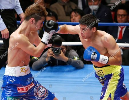 Daniel Roman, Ryo Matsumoto. Champion Daniel Roman, right, of the U.S. sends a right to Japanese challenger Ryo Matsumoto in the second round of their WBA super bantamweight world boxing title match in Tokyo, . Roman defended his title by a unanimous decision