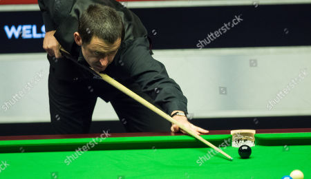 Ronnie O'Sullivan during his  second round match against Graeme Dott